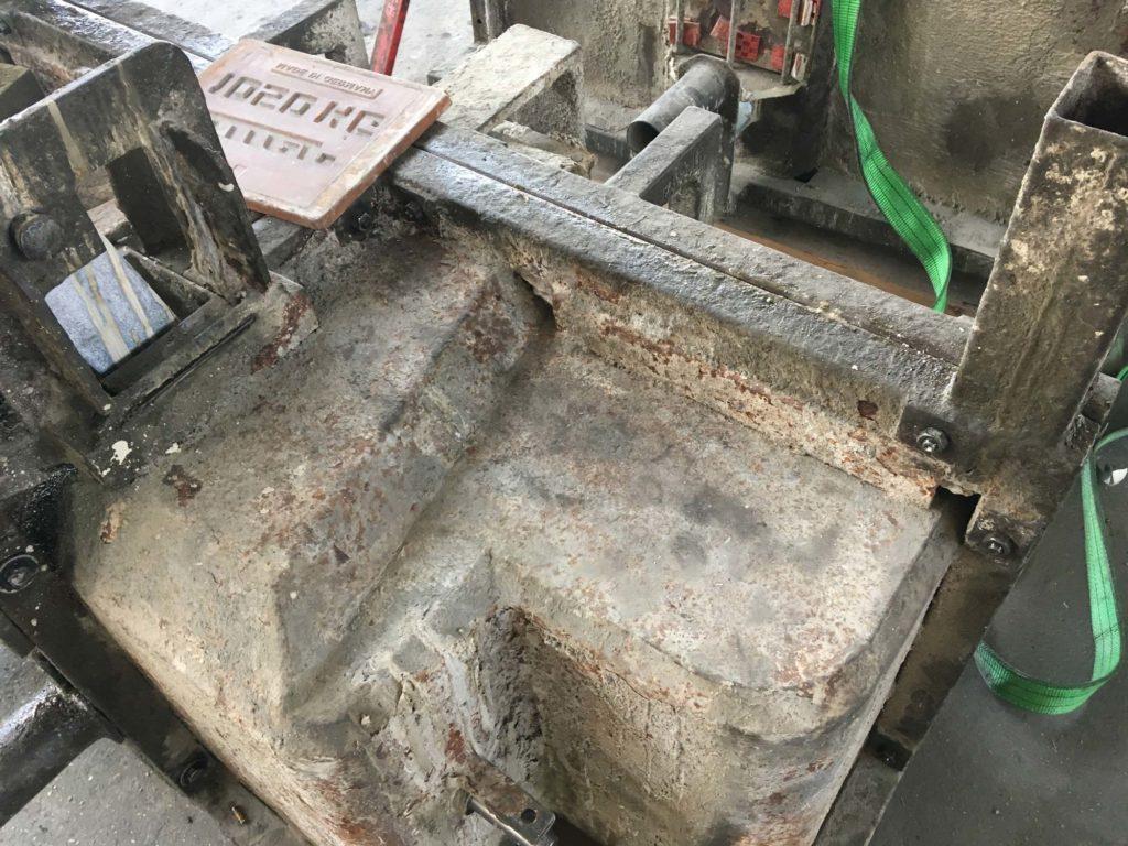 Ballastgewichte für Traktoren aus Beton - Produktion
