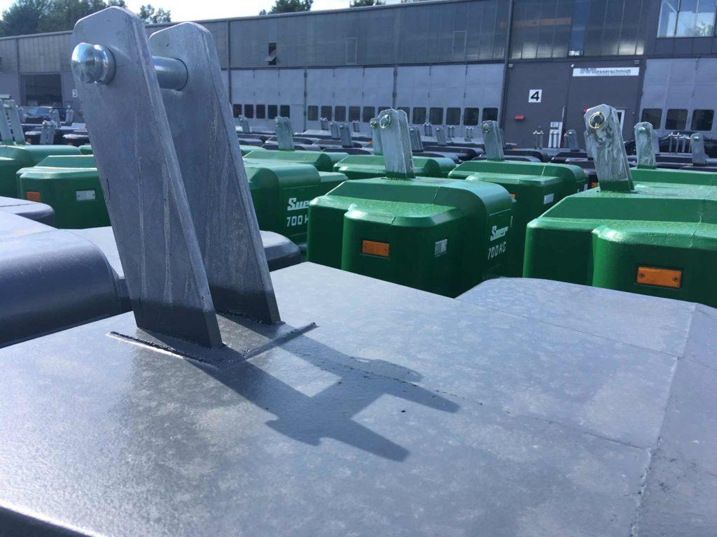 Ballastgewichte für Traktoren aus Langenfeld