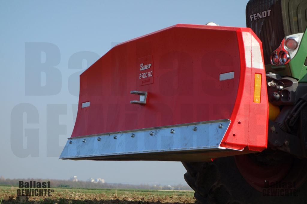 Ballastgewicht Bumper-Schieber 3600kg Kategorie 3