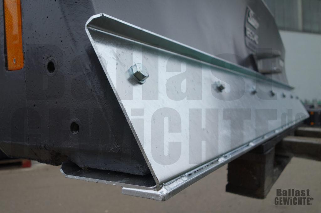 Ballastgewicht für Traktor mit Schieber-Funktion Stahlkante