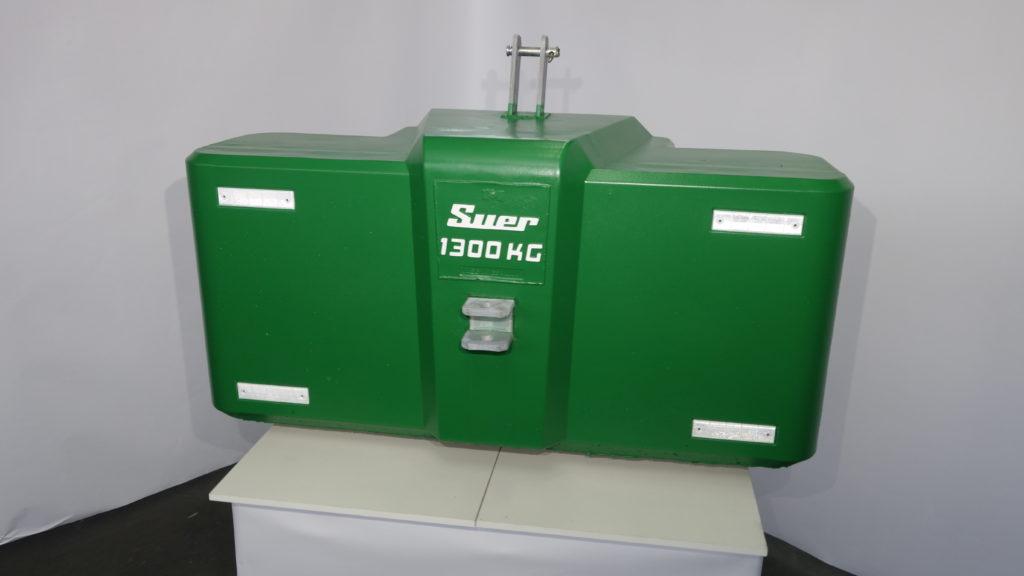 Ballastgewicht für Traktoren aus Stahlbeton 1300kg Grün