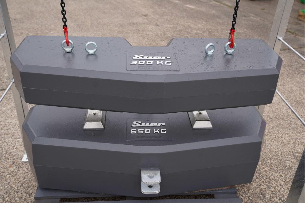 Ballastgewicht Montageeinheit Basis mit 650kg PLUS 300kg